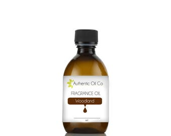 Woodland fragrance oil concentrate for soap bath bombs and candles cosmetics
