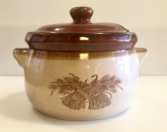 1970s Ceramic Soup Terrine with Lid