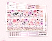 September Monthly Sticker Kit - 3 sheets / for the Vertical Erin Condren