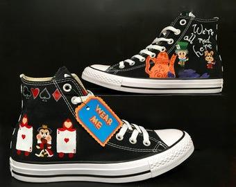 Alice In Wonderland Converse