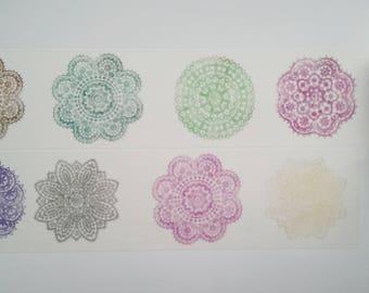Design Washi tape of top pattern masking tape