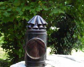 Vintage lantern.  Old French Lantern.