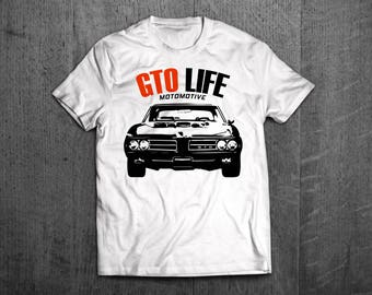 Pontiac GTO Shirts, Pontiac T shirts, GTO t shirts Cars t shirts, men tshirts, women t shirts, muscle car shirts, Pontiac GTO top Motomotive