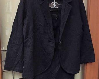 Koret of California Skirt and Jacket Set C1960 Black