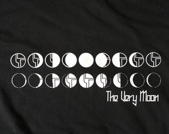 Disco Biscuits Shirt-The Very Moon Phases of the Moon-Adult Uni T Shirt Sizes S M L XL XXL