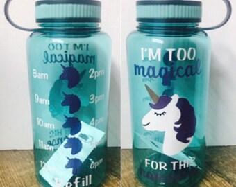 Unicorn Water Bottle