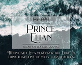 Prince Elian | To Kill a Kingdom Inspired 4oz. or 8oz. Scented Soy Candle