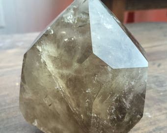 Huge Smoky Quartz Polished Point