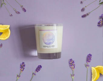Lavender & Lemon Pound Cake Soy Candle 8 oz Jar - Are Candles A Carb?