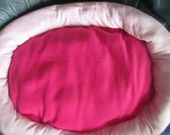 Pink pillow pet cats, dogs
