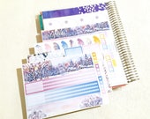 Grésil - January- Note page planner stickers - 4pages - Erin Condren - Plum Paper - Kikki K - Paperchase - Filofax