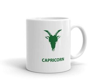 Capricorn Zodiac Mug made in the USA