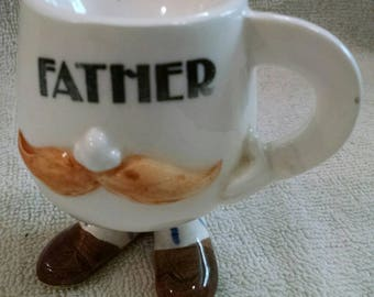 Father's Vintage Egg Cup
