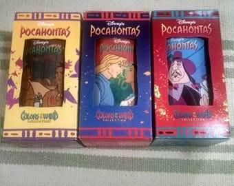 Lot of Disney Pocahontas Tumblers in Original Box