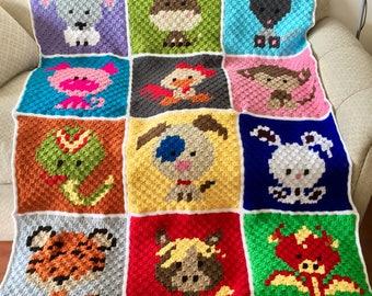 Critter blanket