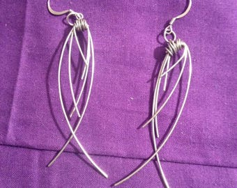 SIMPLY YOURS- wire-wrapped earrings