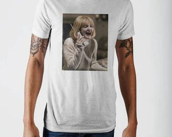 Mens Official Merchandise Drew Barrymore Screaming T-Shirt