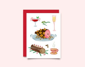 Holiday greeting card - Ham