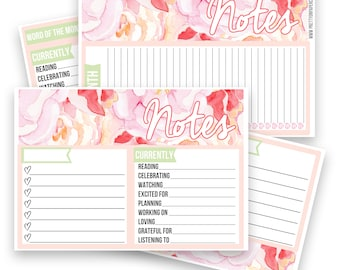 Peter Notes Pages Kit - Planner Stickers