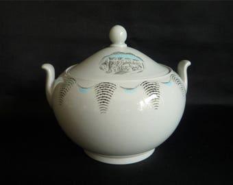 Wedgwood - Eric Ravilious 'Travel' Covered Sugar Bowl