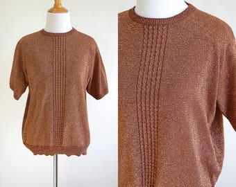 Short sleeve sweater   Etsy