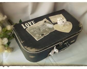 """Wedding urn suitcase """"Love"""""""