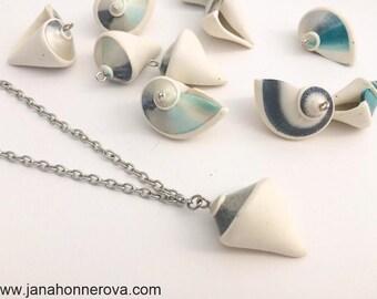 Polymer clay seashell