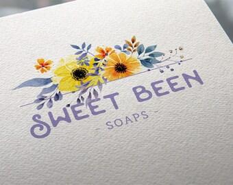 Logo Maker | Flower Logo | Logo Design | Branding | Floral | Business logo | Brand Strategy | Custom Logo Design | Branding Logo