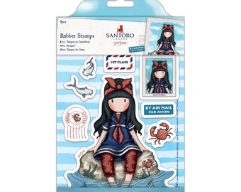 Rubber Stamps - Santoro - Little Fishes