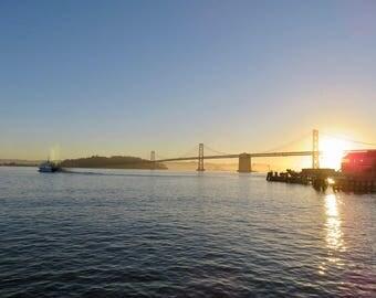 Golden Gate Sunrise print
