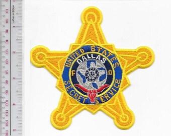 US Secret Service USSS Texas Dallas Field Office Agent Service Longhorn Star Patch