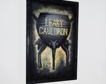 Leaky Cauldron Sign