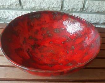 Grosse Keramikschale, Servierschale, Schüssel