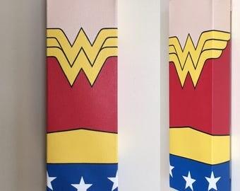Wonder Woman Canvas Painting