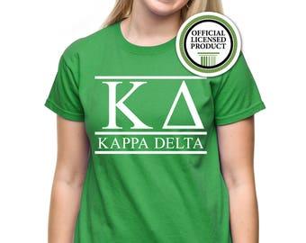 Kappa Delta Shirt; Sorority Shirt; KD Shirt; Sorority Gift; Sorority Big Little; Sorority Gbig; Kappa Delta T-Shirt; Kappa Delta Top