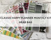 CLASSIC HAPPY PLANNER monthly kit Grab Bag