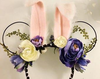 White Rabbit Ears, Alice In Wonderland Ears, Mickey Ears