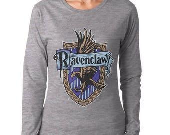 Ravenc #2 Color Crest on Longsleeve Women tee