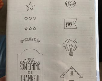 Stanpin Up * NEW* You Brighten my Day, stamp set