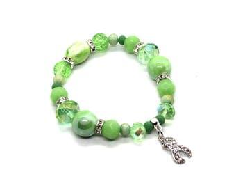 Organ Donor Jewelry - Organ Donor Gift - Depression Bracelet - Depression Awareness - Bipolar Disorder - Lyme Disease - Lyme Bracelet