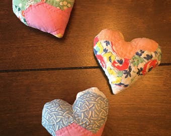 Quilted Heart Posing Pillow