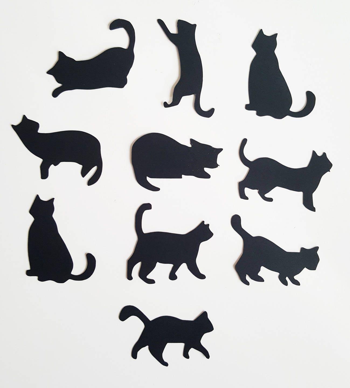 10 chats en papier pais 210 gr disposer sur vos tables de. Black Bedroom Furniture Sets. Home Design Ideas
