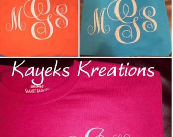 Personalized Monogrammed Shirt