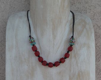 MINIMALIST AFRICAN NECKLACE