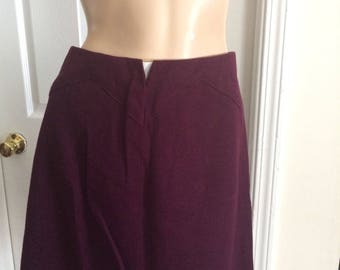 Vintage purple skirt