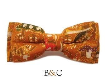 Bow tie child boy ethnic Caramel.