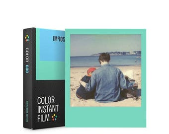 Mint Frames Edition - Polaroid 600 Film - Impossible Project Colour Film For Polaroid 600 Style Instant Cameras