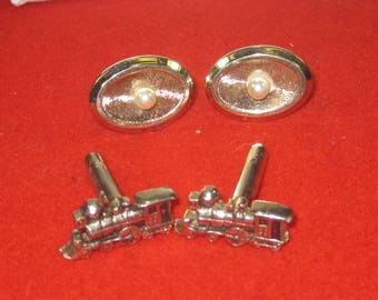 R- 66 Vintage cuff links