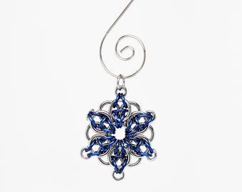 Snowflake Ornament Blue