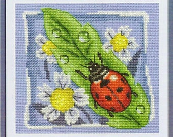 Counted Cross Stitch Kit Ladybird art. PS-0629